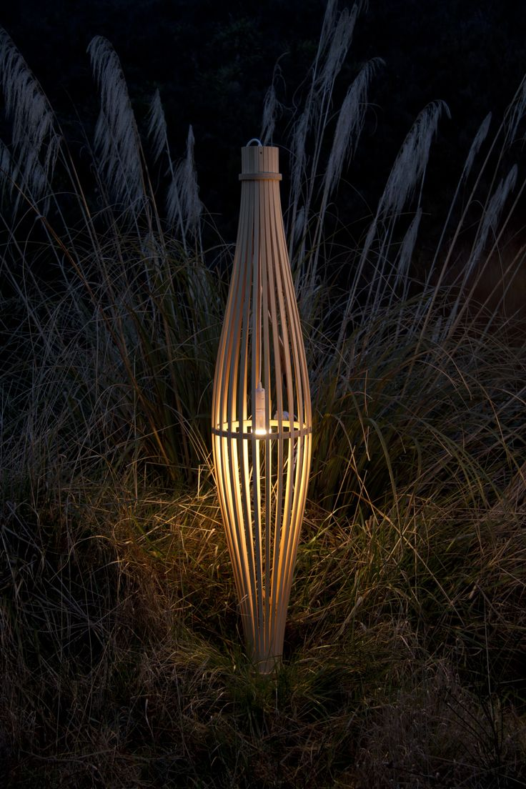 The wooden Reed light is crafted in our  New Zealand workshop, ready to add warmth and ambience to your home.