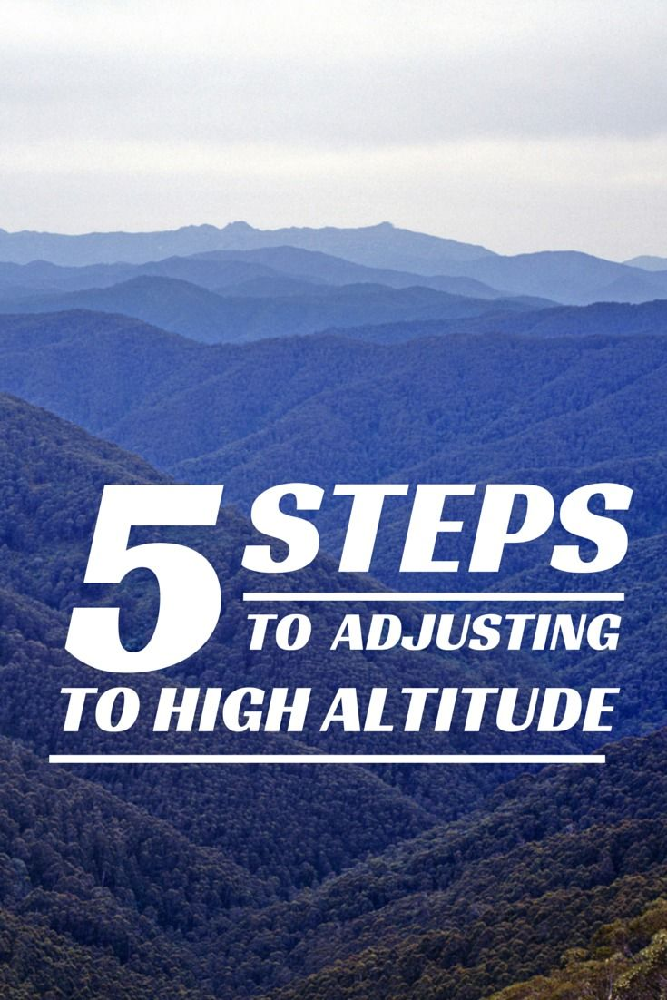 Traveling to a high altitude destination like Denver or Peru? Check out these 5 tips to help prevent altitude sickness. #travel