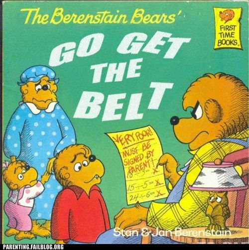 Image result for the berenstain bears fake books