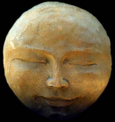 Sweet Dreams, moon face. Above my bed-head please....................