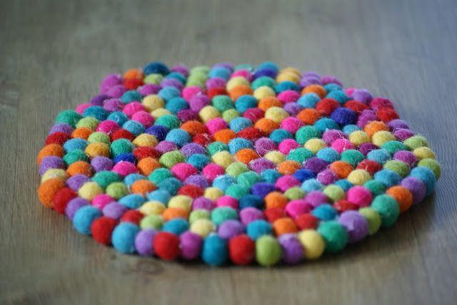 Hobbyvimsa: Ullkule teppe (DIY) kan du lage selv.
