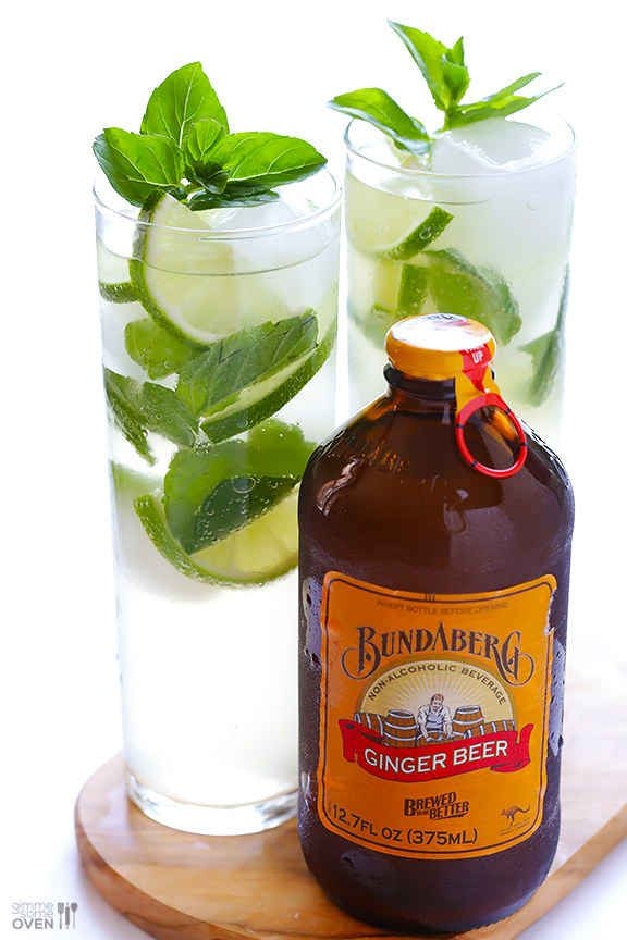 Ginger Beer Mojitos