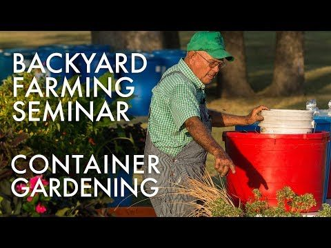 20 Min Leon Sloan Kingston Ok Container Gardening
