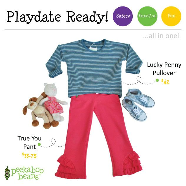 True You Pant - Now $33.75 (reg.$45.00)! | Peekaboo Beans - playwear for kids on the grow! | Contact your local Play Stylist or shop On-Vine at www.peekaboobeans.com | #PBPlayfulPairings