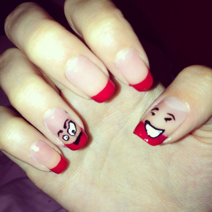 Smiley Face Nail Designs | Best Nail Designs 2018