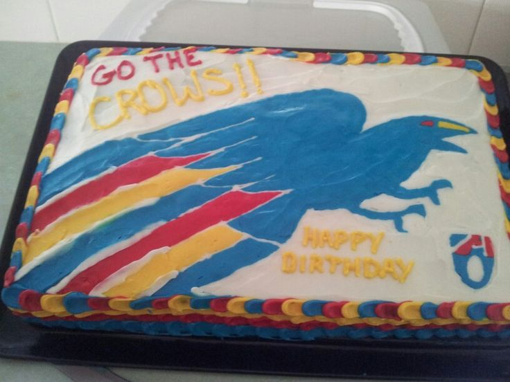 Adelaide crows cake