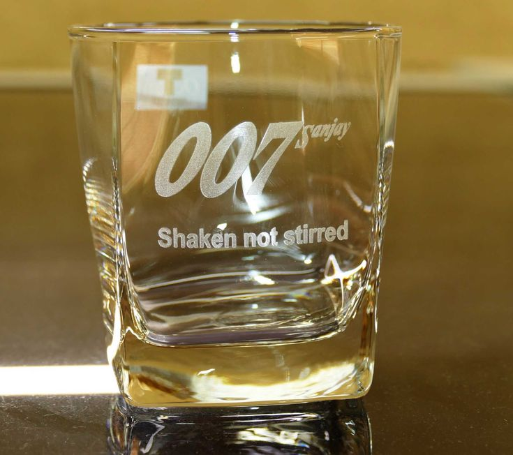 Whisk glasses custom engraved for your next promotion or gift. One or more. Enter details you wish on your glasses