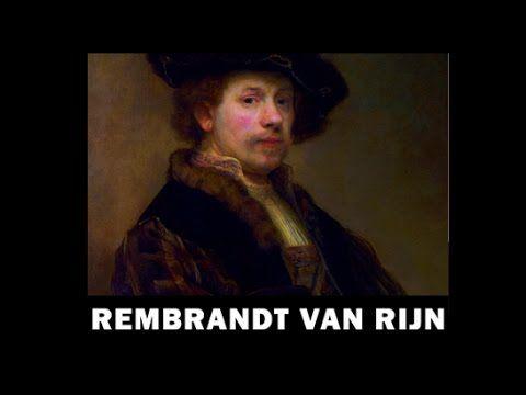 La vie de peinture de Rembrandt