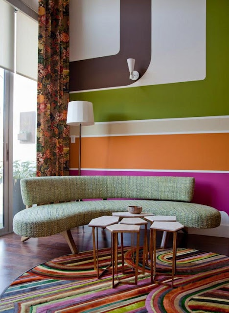 Eye For Design: Color Blocking Your Interiors Amazing Ideas