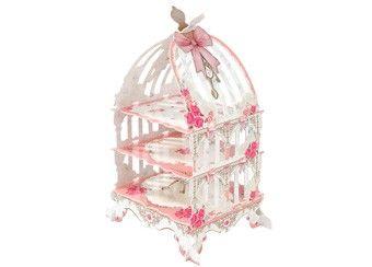 sierlijke taartstaander 'Birdcage'