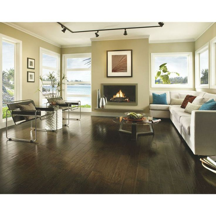 Love The Dark Wood Flooring Lukas Used Throughout The