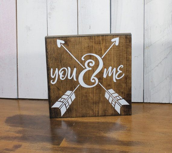 Perfect for Valentines Day Decor, makes a wonderful gift for your Valentine! Dark Stain Board and White Font Measures 8L x 8W x 3/4 apx. Most of my signs come from old lumber that now has a new life. This adds to the character of the sign. Each sign is made to order, so yours