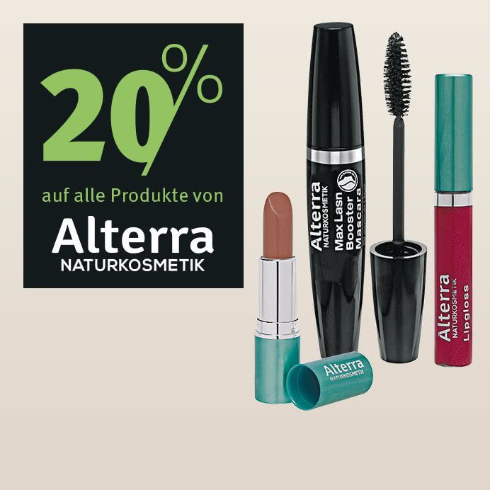 Only the best for your skin and beauty with all natural ingredients - Get 20% discount on natural cosmetics brand Alterra now at Rossmann.de https://buff.ly/2EvSu9g?utm_content=buffer54bd1&utm_medium=social&utm_source=pinterest.com&utm_campaign=buffer