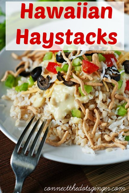 Connect the Dots Ginger: Hawaiian Haystacks recipe!