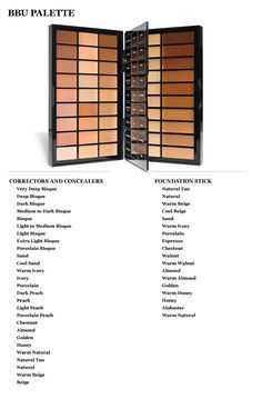 bobbi brown concealer palette for makeup artist | Bobbi Brown Pro Makeup Artist Palettes