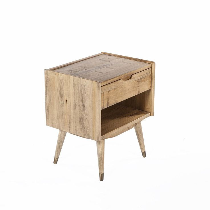 The Brom 1 Drawer Bedside Table design by BD MOD