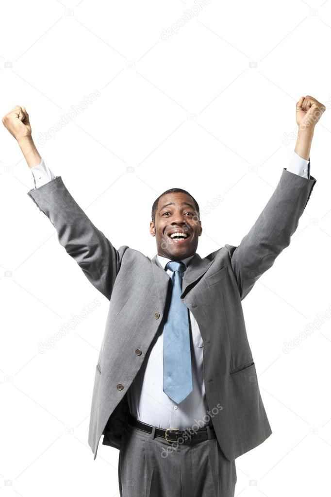 Happy Black Businessman With Suit Royalty Free Stock Images Ad