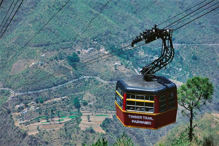 Timber Trail Cable Car