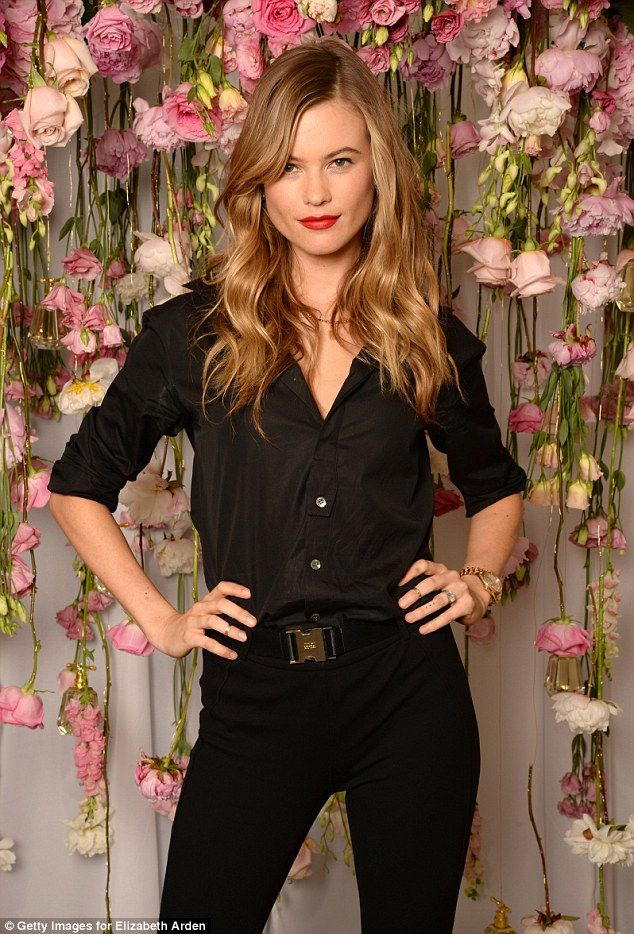 Heaven scent: Behati Prinsloo attended the launch of the I Am Juicy Couture fragrance in N...