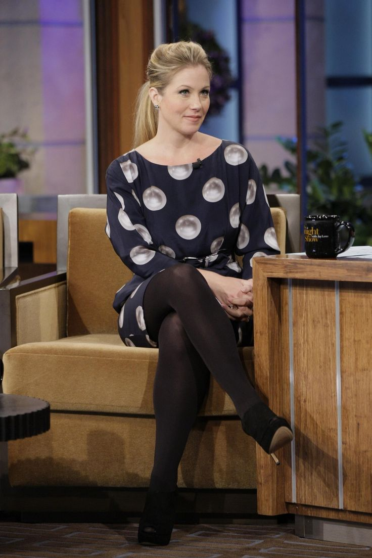 christina applegate stockings
