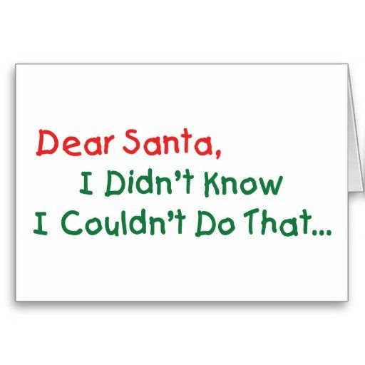 Dear Santa, I Can Explain & Other Dear Santa Quotes and Excuses - #Christmas