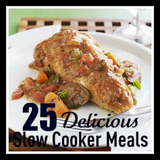 25 Delicious Slow Cooker Recipes- we rounded up some of our very favorites and they all look so good!