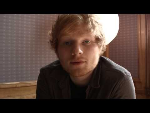 Ed Sheeran sends videoclip to norwegian fans! #Sayhello