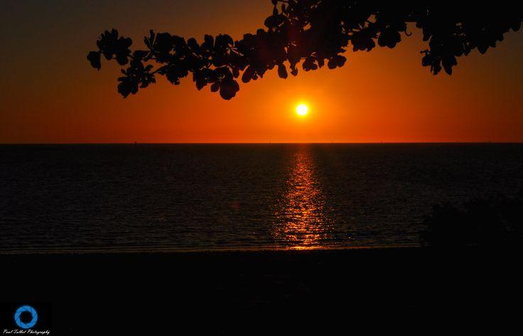 Gulf sunset, Outback Queensland Australia.