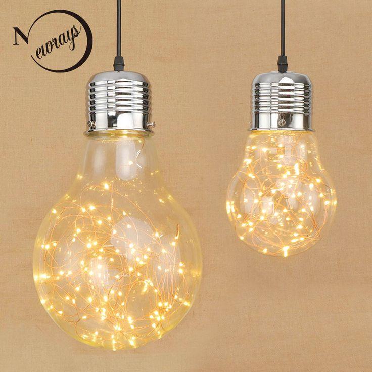 Modern asılı Cam abajur cilalar Sarkıt LED Tatil ışık için kolye Işıklar Fikstür Restoran oturma odası yatak odası