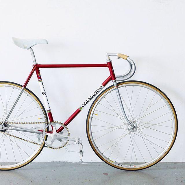 Colnago track bike #colnago#pista#fixie#track#bike#campagnolo#italian