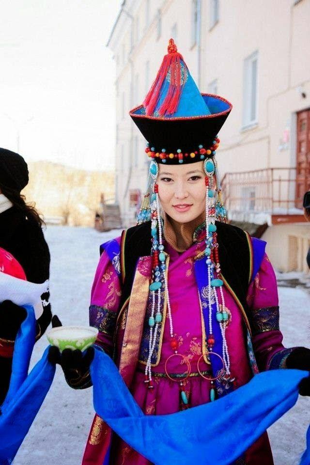 Buryatlar - Buryats - Burjátok - Буряты - Türk Asya - Bilig Bitig, Asian Turkish, Тюрки России