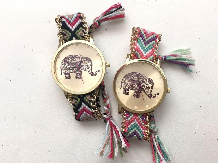 Elephant Friendship Bracelet Watch