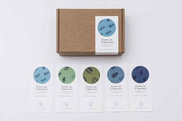 TAKE A GREEN BREAK: Unknown Seed Kit by Sok Hwee