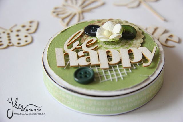 Yka handmade: Be happy