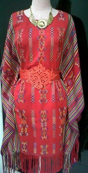 Kaftan dress - Ikat Timor