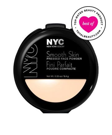 Best Drugstore Powder Foundation No. 3: N.Y.C. New York Color Smooth Skin Pressed Face Powder, $2.99