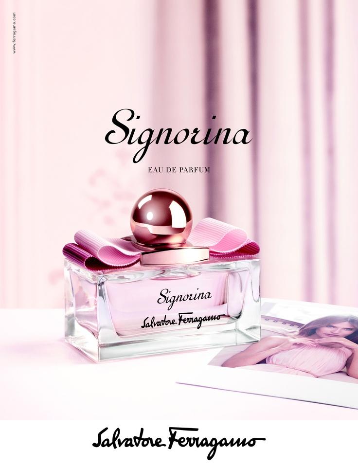 """""""Signorina"""" by Salvatore Ferragamo"""