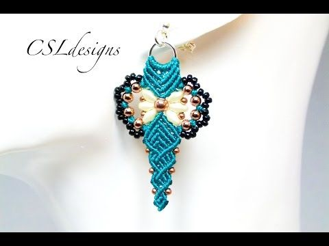 Loving Heart Reversible Charm - A Bronzepony Beaded Jewelry Design - YouTube