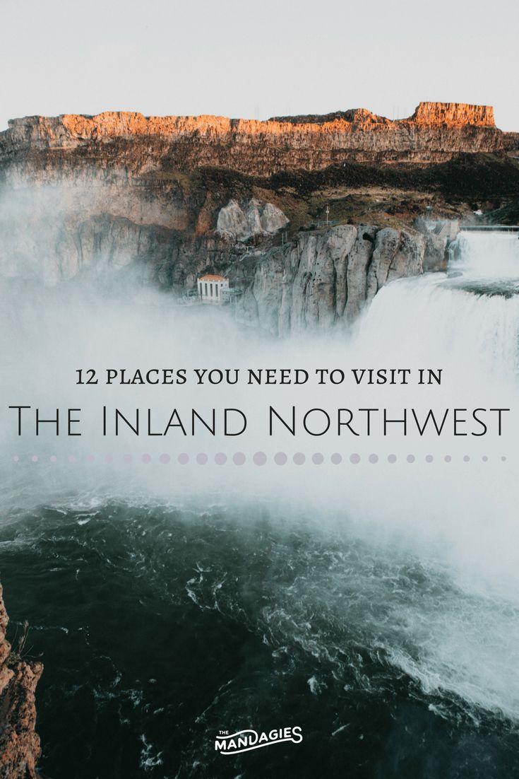 11 Stunning Places To Visit In The Inland Northwest // Washington, Idaho, Montana, Oregon, USA - The Mandagies
