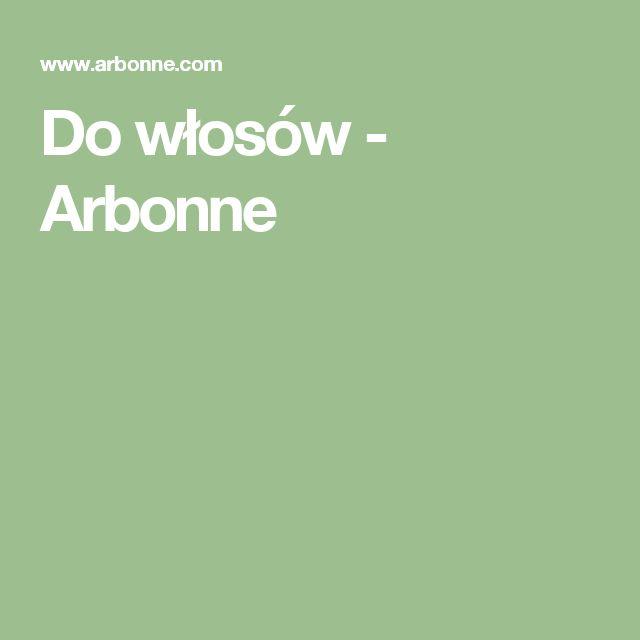 Do włosów - Arbonne