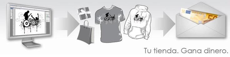 Tienda online de camisetas - Vende tus Diseños y Creaciones en latostadora