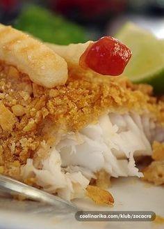 Riba spremljena na ovaj nacin je predivnog okusa,socna iznutra,hrskava izvana!