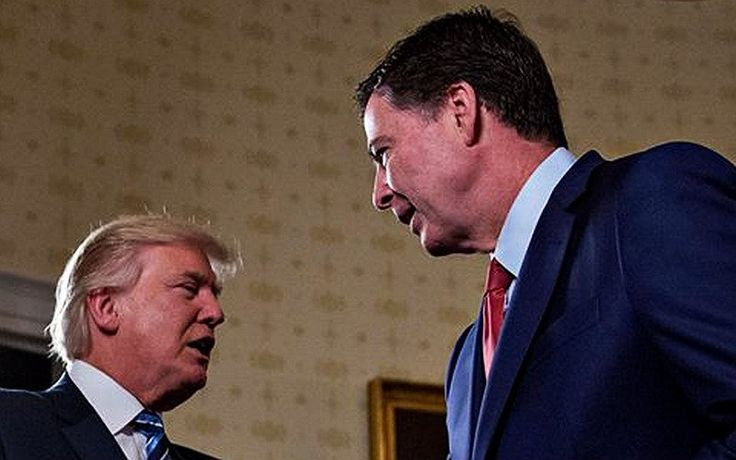 President Trump demanded a pledge of loyalty from James Comey.