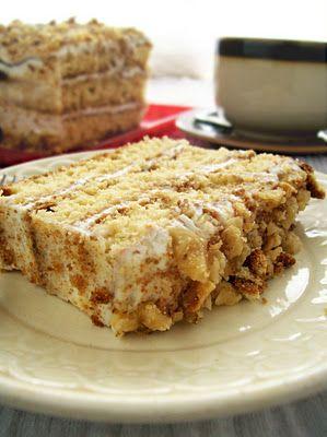 Сладко и Солено: Лека медена торта