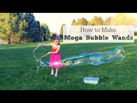 How to Make Giant Bubble Wands - Inner Child Fun
