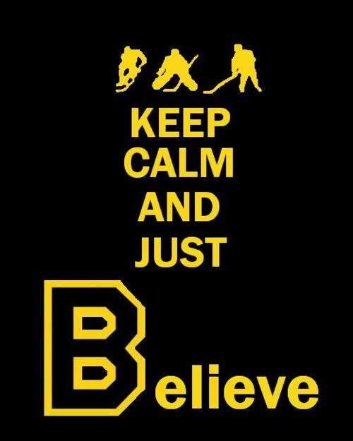 Believe in the Bruins