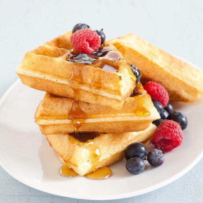 Gluten-Free Buttermilk Waffles