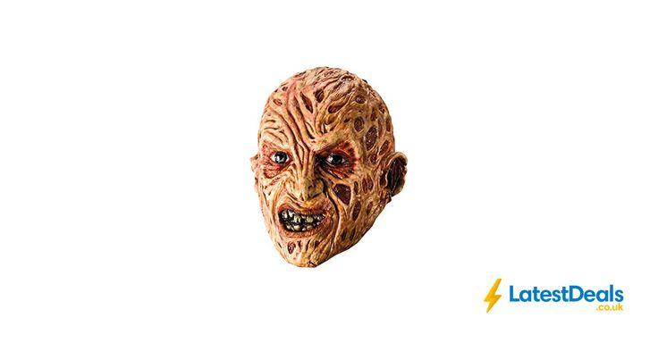 Rubie's Official Adult's Freddy Krueger Vinyl Mask, £11.99 at Amazon UK