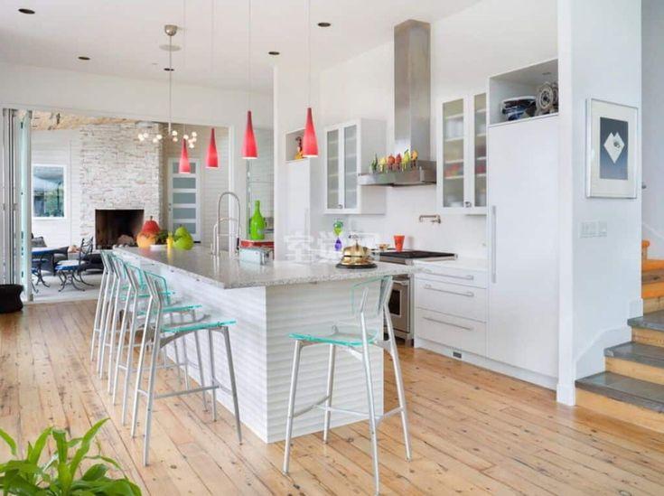 farbe hinzuf gen um eine wei e k che stellen sie frische. Black Bedroom Furniture Sets. Home Design Ideas
