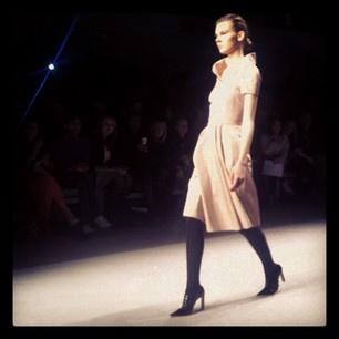 Front row at Jasper Conran - London Fashion Week 2012 #LFW